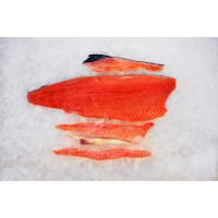 Salmon fillet chilled 1,6+ C-grade. (SUSHI) Latvia