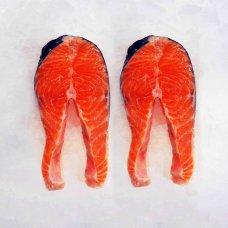 Salmon steaks 230-270g fresh Latvia