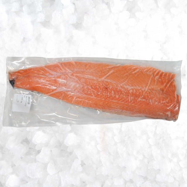 Frozen Salmon fillets B cat s-on b-less
