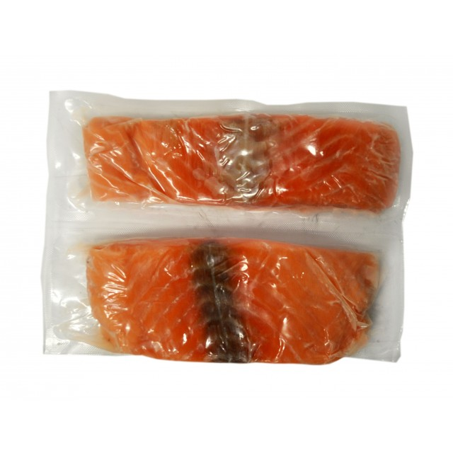 Frozen Salmon Fillets portions skin less 220-240 gr   (11.34 kg) Sweden