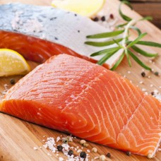 Salmon Fillets s-on D kat bones less 1.4-1.8 kg (15 kg) Chile