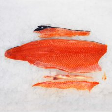 Salmon fillet chilled 1,6-2.2kg C-trimm. Latvia