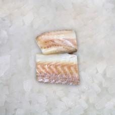 Atlantic Cod fillets skinless portions 70-135 gr 20 % (5 kg) Norway frozen