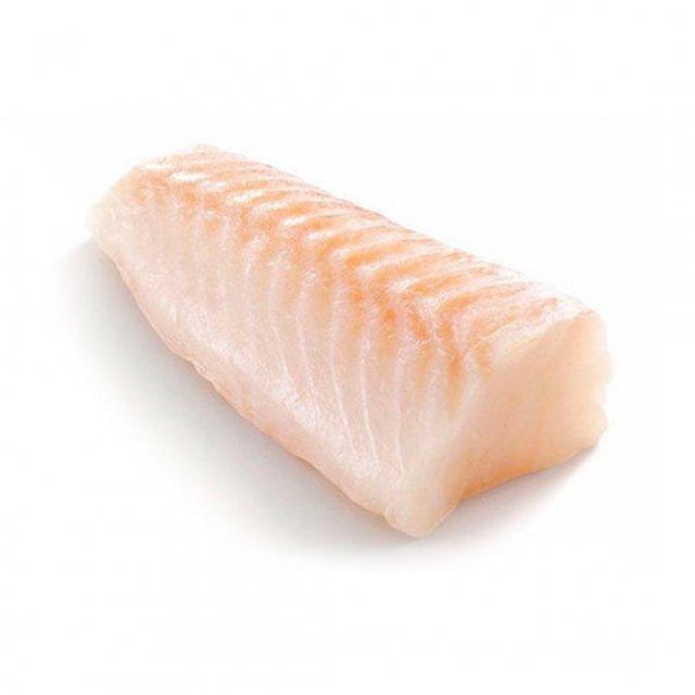 Cod loins skinless 180-200 gr 20 % 1 kg bag  frozen