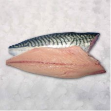 Mackerel fillets skin less 10kg 5 %