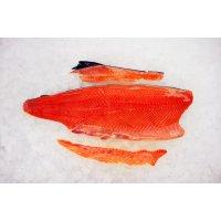 Salmon fillet chilled C-grade. Latvia