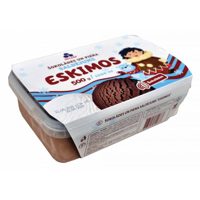 Ice cream chocolate milk (4x1000ml) Ukraine
