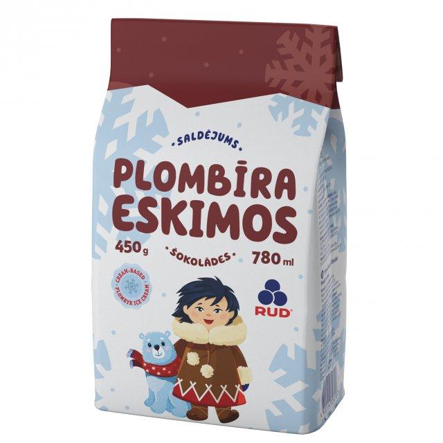 "Ice cream ""ESKIMOS""  chocolate, 780ml"