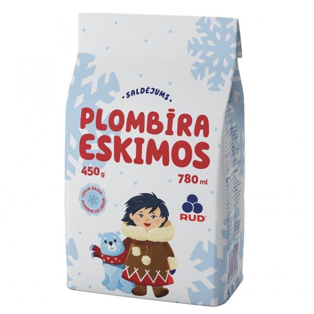 "Ice cream ""ESKIMOS""  milk, 780ml"