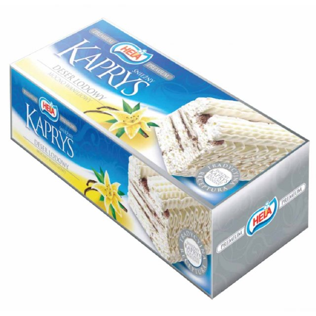 Vanilla ice cream Kaprys (4*100ml) Poland