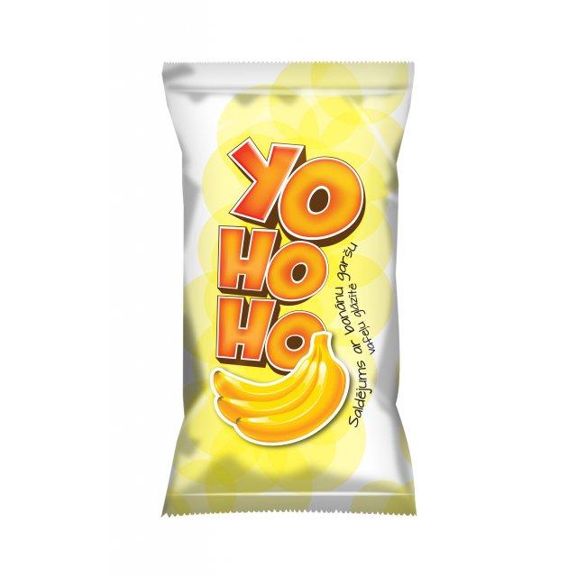 "Banana ice cream in a waffle cup ""YOHOHO"", 65g/120ml"