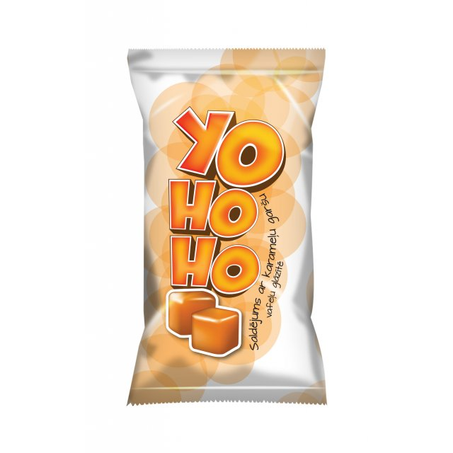 "Caramel ice cream in a waffle cup ""YOHOHO"", 65g/120ml"