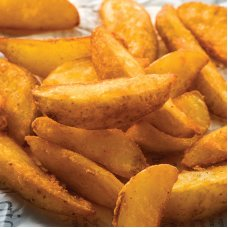Seasoned potato wedges (4*2.5 kg) Netherlands