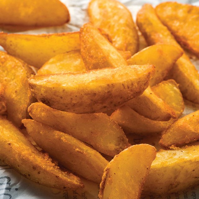 Seasoned potato wedges (4*2.5 kg) Netherlands