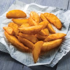 Potato wedges skin on, (4*2,5 kg) Netherlands