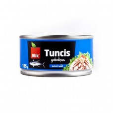 Tuna pieces in own juice (48*185g/130g) Thailand