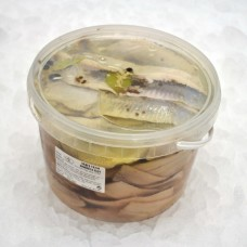 Herring fillets in oil 2.5 kg Latvia