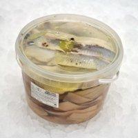 Herring fillets marinated in oil, 3.25kg