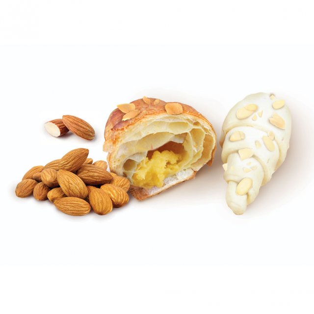 Croissant with almonds, 36*85g