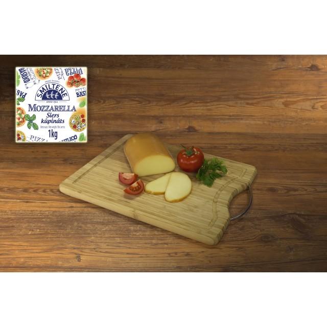 Cheese Mozzarella smoked, (7*1kg) Latvia