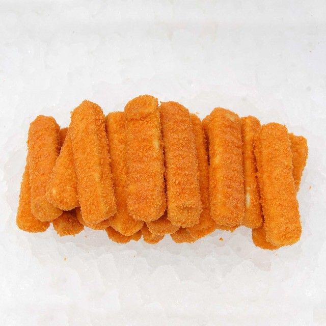 ALASKA POLLOCK FILLET FISH FINGERS Premium, 53% fillets, 6kg, Poland