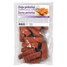 Breaded Fish fillets Fingers (8x0.500 kg)   30 gr/pcs (65% fillet), Germany