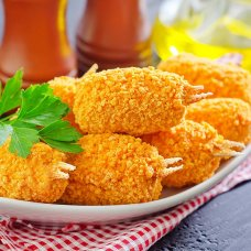 Breaded Crab Claws 5kg, 30% surimi, Lithuania