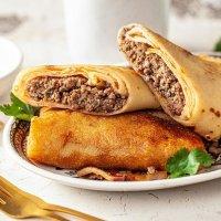 "Pancakes with meat ""Bojarskije"", 500g"