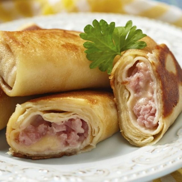 """Pancakes with bacon and cheese """"Bojarskije"""", 2kg"""