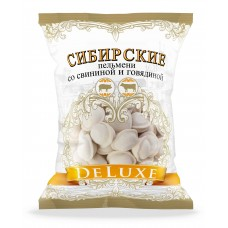 "Dumplings ""DELUXE Sibirskie"" with pork and beef 16x700g"