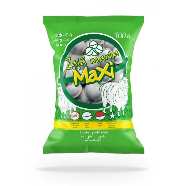 """Dumpling """"Zaļā Marka"""" MAXI with lamb, 16x700g"""