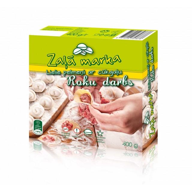 """Dumplings """"Zala Marka"""" with pork, 9x0.400kg"""