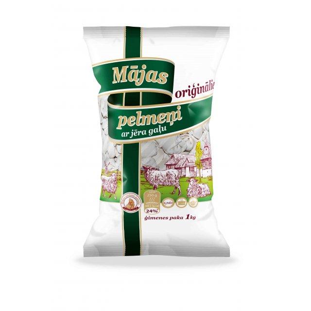 """Dumplings Home original """"family pack"""" with lamb, 1kg."""