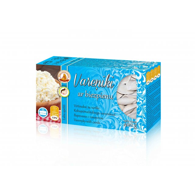 Vareniky with curd, 400g
