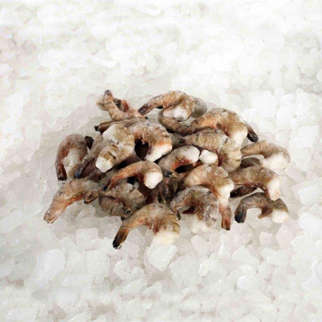 Black Tiger head-less, shell-on, raw 26/30 Bangladesh (10x1kg) Easy Peel 20%