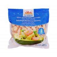 Pacific white shrimps cooked, peeled, Sunrise 100/200, 300g, 25%