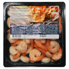 Vannamei cooked, peeled, tail-on 31/40 Vietnam (6x400g net weight) Gardi Ēdis