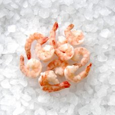 Vannamei cooked and peeled, tail-on 21/25б 1kg, 25% glaze