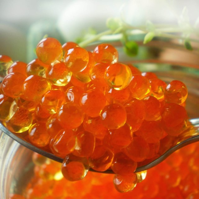 Trout caviar salted, frozen (12*(4*250g))
