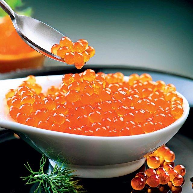 Trout caviar frozen, 250g