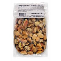 Mussel meat, cooked 100/200 Chile (10x1kg) 10%