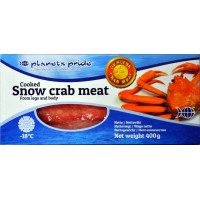 Snow crab meat cooked 35/65% Combo leg/body, Canada/China (20x400g)