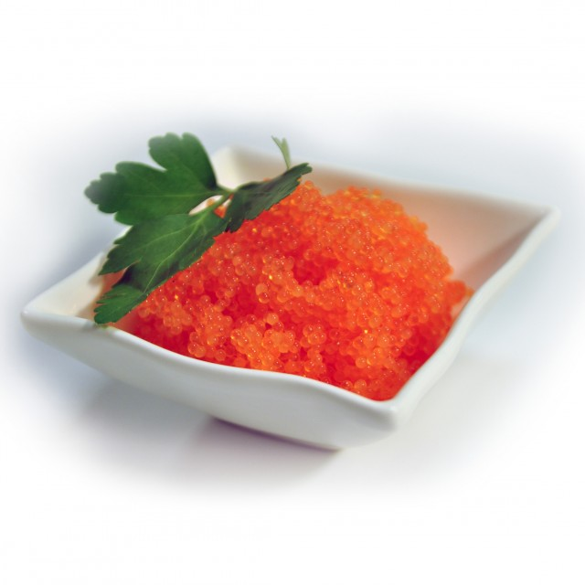 Moivas (Masago) ikri oranžie, Latvija, 12x0.5kg