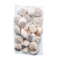 Sea scallop meat 10/20 roe-off USA (10x1kg) 100% NW