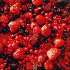 Fruitmix (4*2,5 kg)-strawberries, black berries, blackcurrant, red currant, raspberries, Lithuania