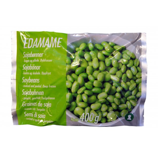 Edamame Green Soybean peeled precooked 400g
