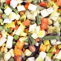 Zupas dārzeņu maisījums 5-mix (4*2,5 kg) Beļģija