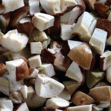 Frozen Boletus edulis cubes (10*1kg) Lithuania