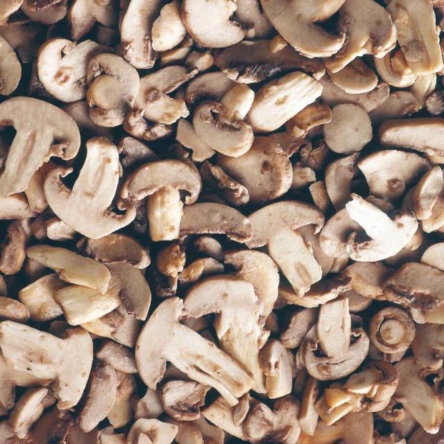 Sliced mushrooms (4*2,5 kg) Belgium